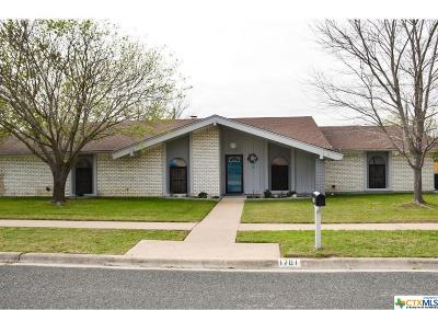 Killeen Single Family Home For Sale: 1701 Prather Drive