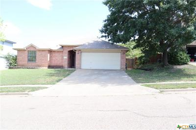 Copperas Cove Single Family Home For Sale: 407 Dillon Drive