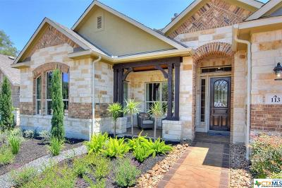 Boerne Single Family Home For Sale: 113 Kingston Court