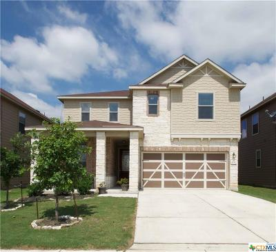 New Braunfels Single Family Home For Sale: 4086 Legend Pond