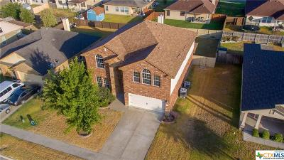 Harker Heights  Single Family Home For Sale: 6111 Emilie Lane