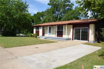 Killeen Single Family Home For Sale: 903 Santa Rosa Drive