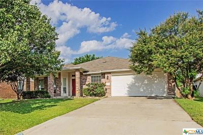 Harker Heights Single Family Home For Sale: 420 Rain Cloud Trail