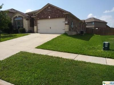 Killeen Single Family Home For Sale: 3111 Cricklewood Drive