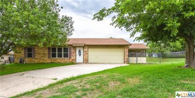 Killeen Single Family Home For Sale: 2805 Delta Circle