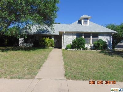 Killeen Single Family Home For Sale: 3301 Westrim Drive