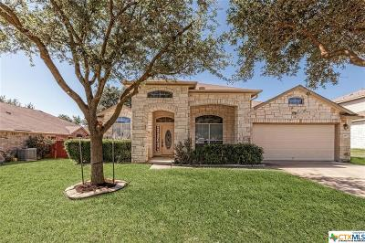Killeen Single Family Home For Sale: 4902 Rose Quartz Drive