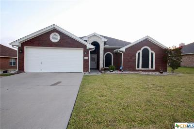 Killeen Single Family Home For Sale: 4805 Fossil