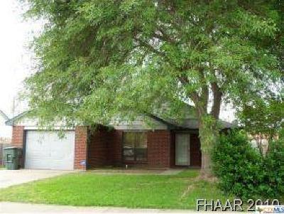 Killeen Single Family Home For Sale: 2402 Hemlock Drive