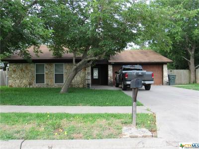 Killeen Single Family Home For Sale: 4304 Prairie Drive