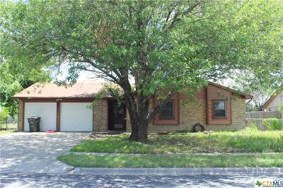 Killeen Single Family Home For Sale: 5805 Dan Drive