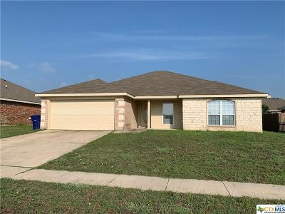 Copperas Cove Single Family Home For Sale: 2509 Gail Drive