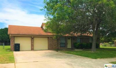 Killeen Single Family Home For Sale: 2204 Hidden Hill Drive