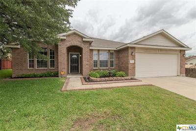 Harker Heights Single Family Home For Sale: 723 Cattail Circle