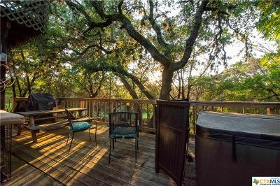 Comal County Single Family Home For Sale: 1260 Lakeside Drive