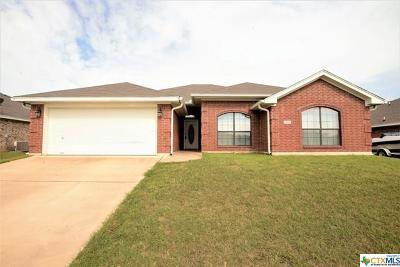 Killeen Single Family Home For Sale: 2507 Lavender Lane