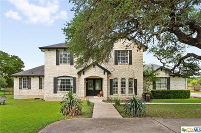 Buda TX Single Family Home For Sale: $499,990