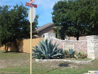 Harker Heights Residential Lots & Land For Sale: 1800 Ridgewood Court