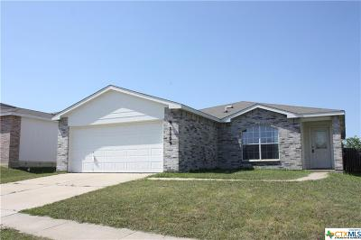 Killeen Single Family Home For Sale: 3209 Blackburn Drive