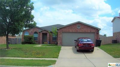 Killeen Single Family Home For Sale: 3502 Bull Run Drive