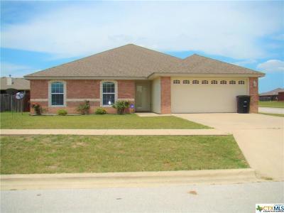 Killeen Single Family Home For Sale: 1211 Copper Creek