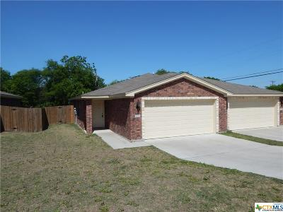 Harker Heights Multi Family Home For Sale: 902 McClure Lane
