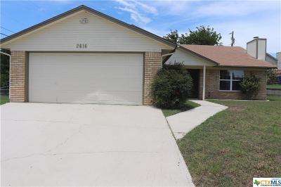 Copperas Cove Single Family Home For Sale: 2616 Phyllis Drive