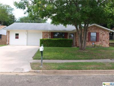 Copperas Cove Single Family Home For Sale: 709 Joe Morse Drive