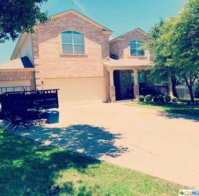 Killeen Single Family Home For Sale: 4907 Rose Quartz Drive