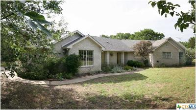 Lampasas Single Family Home For Sale: 4088 Cr 1020