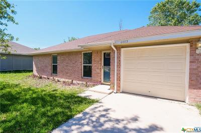 Killeen Single Family Home For Sale: 4603 W Creek Circle