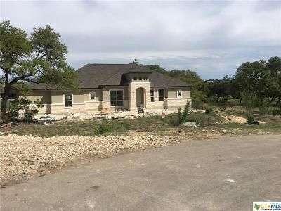 New Braunfels Single Family Home For Sale: 1306 Capitare