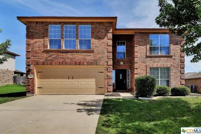 Killeen Single Family Home For Sale: 5707 Mosaic Trail