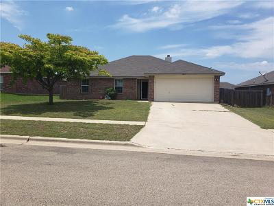 Killeen Single Family Home For Sale: 3805 Kevin Shaw Drive