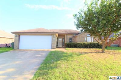 Killeen Single Family Home For Sale: 2306 Lava Lane