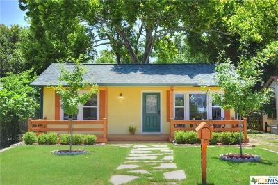 New Braunfels Single Family Home For Sale: 927 N Union Avenue