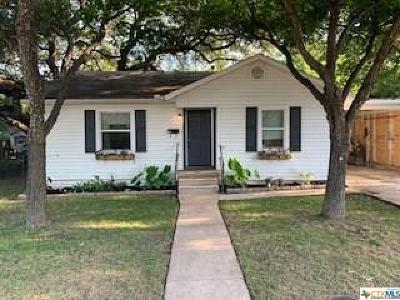 Belton Single Family Home For Sale: 207 W 14th Avenue