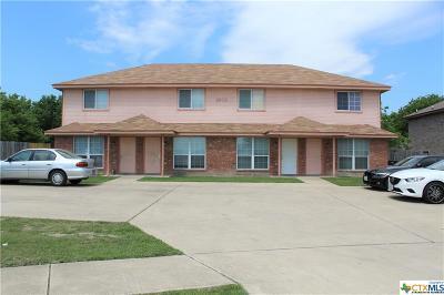 Killeen Multi Family Home For Sale: 4509 Mattie Drive