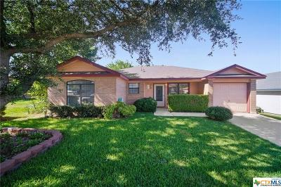 Copperas Cove TX Single Family Home For Sale: $115,000