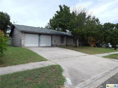 Copperas Cove Single Family Home For Sale: 1418 Janet Drive