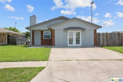 Killeen Single Family Home For Sale: 3114 Chisholm Trail