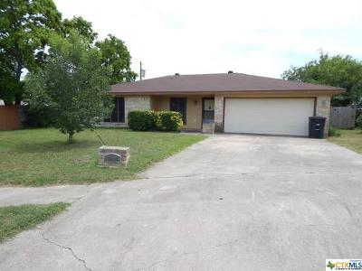 Killeen Single Family Home For Sale: 2302 Goode Circle
