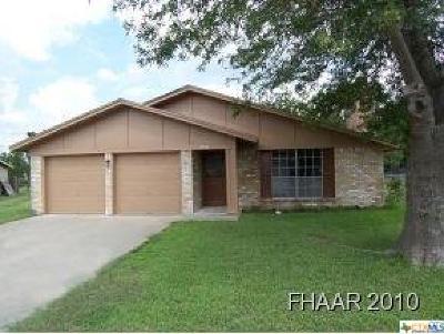 Killeen TX Single Family Home For Sale: $125,500