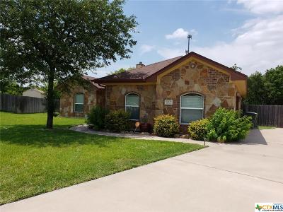 Harker Heights, Killeen, Belton, Nolanville, Georgetown Single Family Home For Sale: 2407 Duran Drive