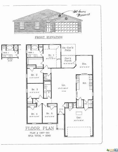 Killeen Single Family Home For Sale: 6711 Oliver Loving Drive