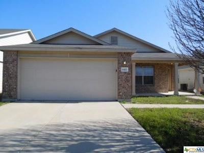 Killeen Single Family Home For Sale: 6400 Griffith Loop