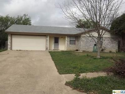 Copperas Cove Single Family Home For Sale: 1415 Janet Lane