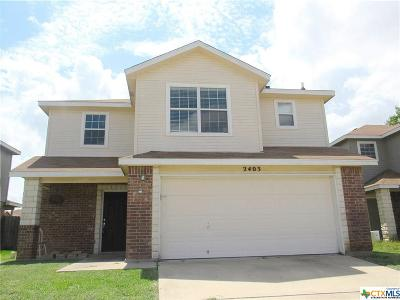 Killeen Single Family Home For Sale: 2405 Waterfall Drive