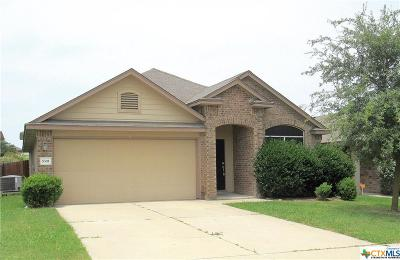 Killeen Single Family Home For Sale: 5301 Lions Gate Lane