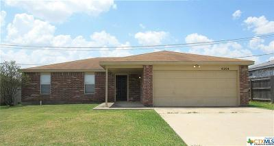 Killeen Single Family Home For Sale: 4204 Sand Dollar Drive